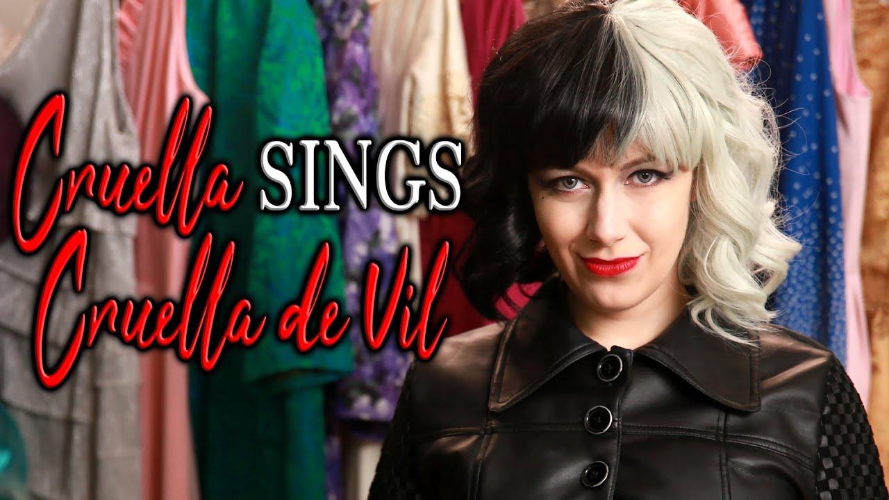 Cruella sings 'Cruella de Vil' + her own version! (Disney parody)