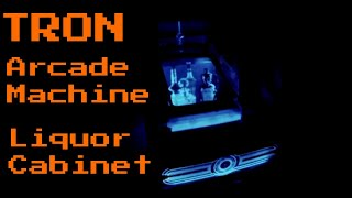 Tron Arcade Machine Turned Into Liquor Cabinet Gopro