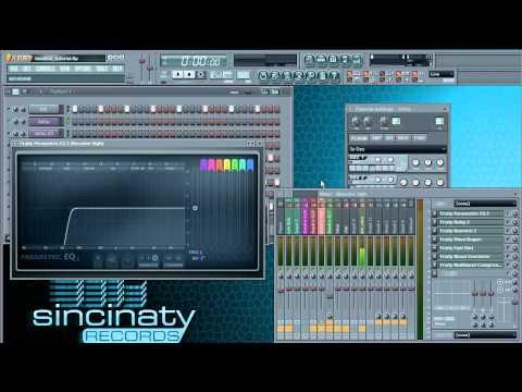 FL Studio Tutorial - Electro Basslines Part 1/2 // Sincinaty Records [HD]