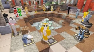 Minecraft Xbox - 16 Player Battle Mini-game!