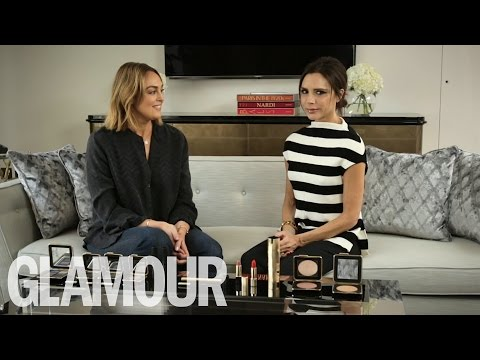 Victoria Beckham talks the Beckham Boys, Cruz & Harpers Love of Beauty | Beauty Talk | Glamour UK
