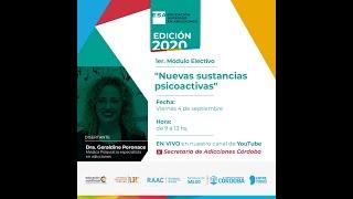 """ESA 2020 - 1° Módulo Electivo - """"Nuevas sustancias psicoactivas"""""""