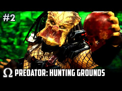 I AM THE ULTIMATE PREDATOR! ☠️ | Predator: Hunting Grounds #2 (w/ H2O Delirious, Cartoonz & More!)