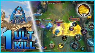 WILD RIFT SONA Gameplay | 1 Ult = 1 Kill | Wild Rift Closed Beta Test