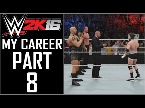 """WWE 2K16 - My Career - Let's Play - Part 8 - """"The Authority"""""""