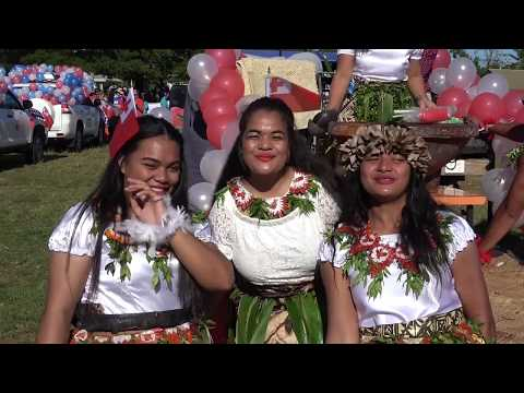 Tonga Masani! Heilala Festival Float & Miss Heilala Welcome