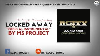 Video R. City & Adam Levine - Locked Away (Official Instrumental) + DL download MP3, 3GP, MP4, WEBM, AVI, FLV Agustus 2017