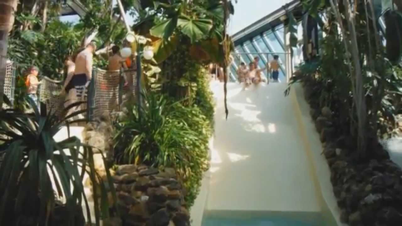 Alle glijbanen aqua mundo centerparcs het heijderbos youtube