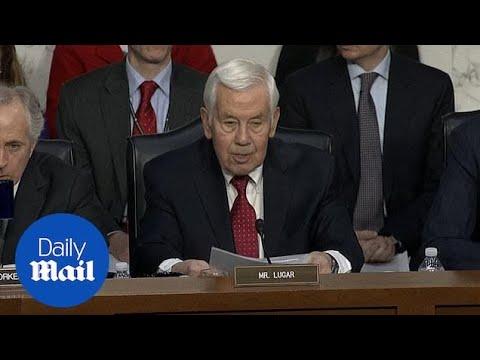 Former Republican Senator Richard Lugar dies at 87