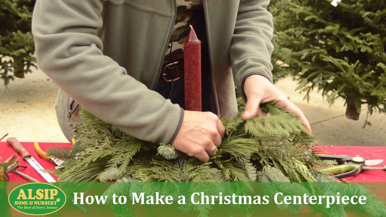 How To Make A Christmas Centerpiece
