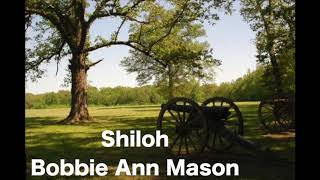 "a summary of the short story shiloh by bobbie ann mason The essay will be an analysis of bobbie ann mason's short story ""shiloh not simply write a summary of the plot and action modern language style (mla."
