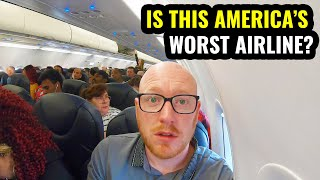I FLEW ON AMERICA'S WORST AIRLINES BACK TO BACK!