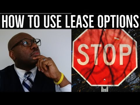 How to use Lease Options to Stop Foreclosures & Create a win-win situation: Seller, Buyer & Investor