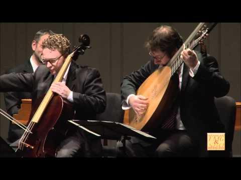 Cavalli: Canzon a 3 (Venice, 1656) for two violins, cello, and continuo