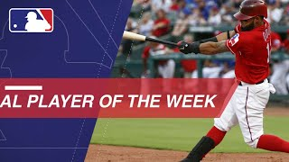 American League Player Of The Week: Rougned Odor
