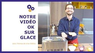 Comment faire des glaces ou sorbets maison ? Hyper facilement avec une sorbetière à compresseur !