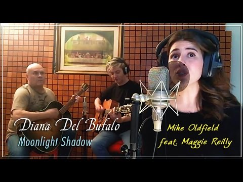 Diana Del Bufalo, wonderful cover of Moonlight Shadow by Mike Oldfield ft. Maggie Reilly