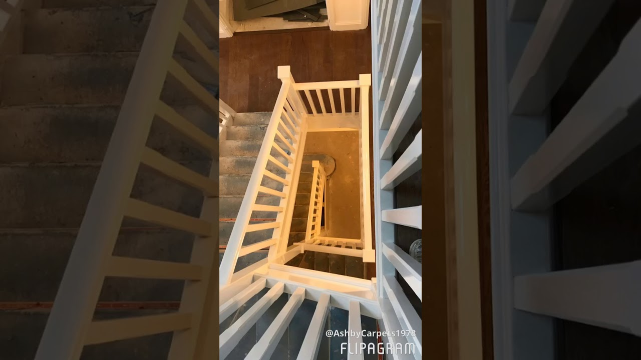 Engineered Wood On Stairs Installation
