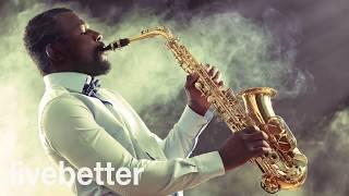 Современный, нежный, веселый и современный джаз работать с современным джазовым саксофоном