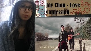 Jay Chou 【告白氣球 Love Confession】MV _ REACTION