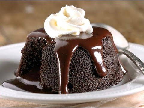 How to make No bake Chocolate Molten Lava Cake in 3 min