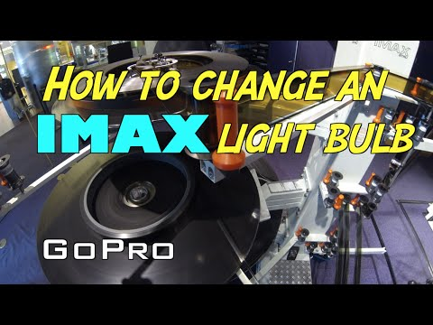Watch The Elaborate Process Of Changing An IMAX Lightbulb