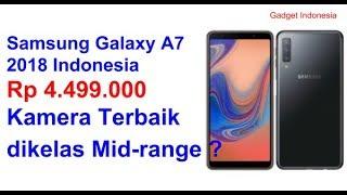 Rp 4.499.000   Spesifikasi dan Harga Samsung Galaxy A7 2018 Indonesia