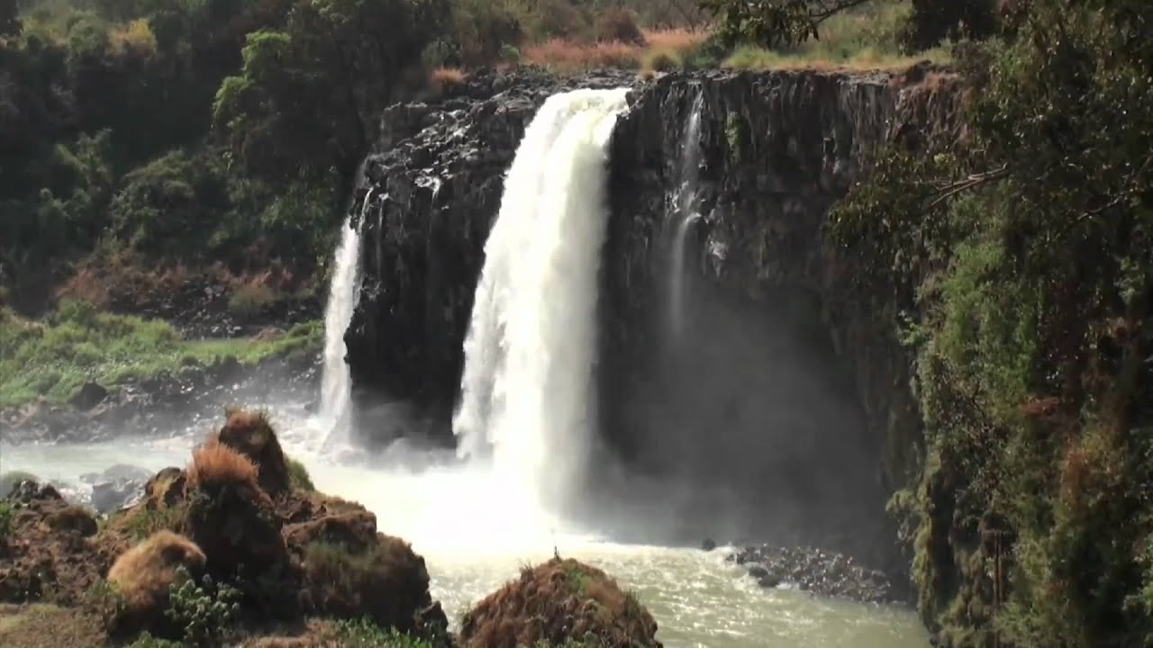 Free Fall Screensavers Wallpaper The Blue Nile Falls Ethiopia Youtube