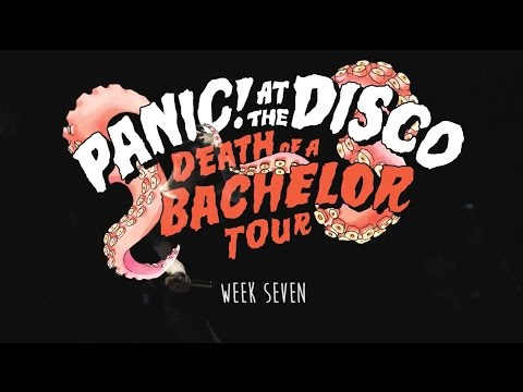 Panic! At The Disco - Death Of A Bachelor Tour (Week 7 Recap)