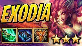 EXODIA 3 STAR ZYRA BUILD - Mage/Summoner/Ocean   Teamfight Tactics Set 2   TFT   LoL Auto Chess