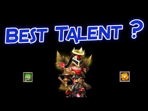 Castle Clash: Best Talent For Michael?