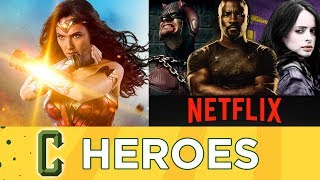 Wonder Woman Smashes Records, Netflix Heroes Return In 2018 - Collider Heroes
