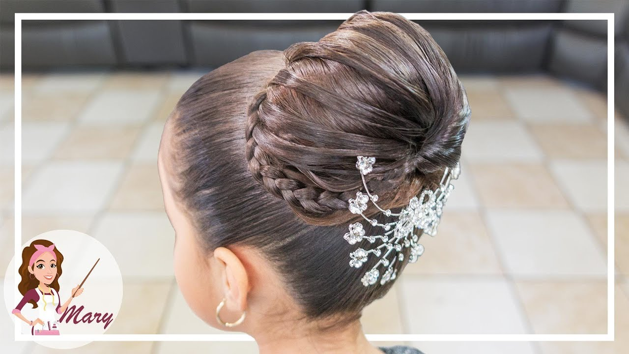 Peinado Facil Y Elegante Para Fiesta Youtube