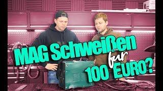 Fülldraht-Schweißgerät für 100 Euro?! | Erfahrung und Testbericht