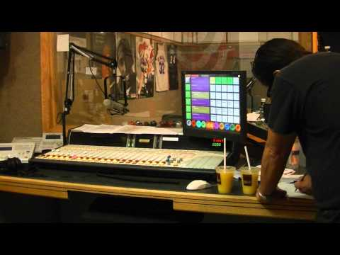 Instructional video for live radio station control board
