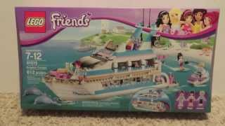Lego Friends 41015 Dolphin Cruiser In Box Review Haul