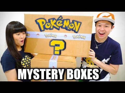 Pokémon MYSTERY BOXES Unboxing!