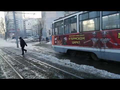 На Уральской прорвало трубу