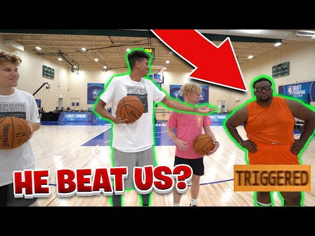 NBA DRAFT COMBINE SHOOTING CHALLENGE! vs. Spice Adams
