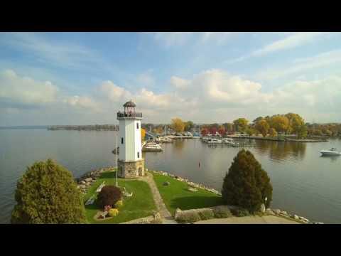 Fall colors of Lakeside Park - Fond du Lac, WI