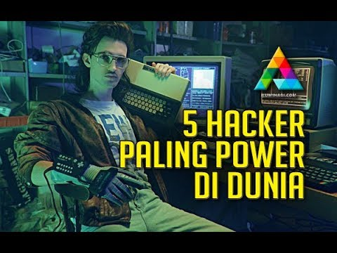 5 Hacker Paling Power Di Dunia
