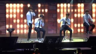[FanCam] 20141207 BTS - Look Here TRB Manila