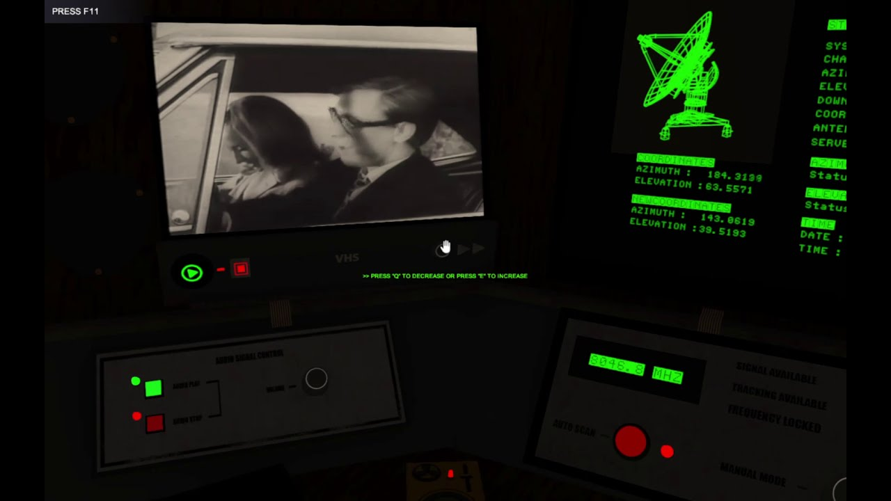 Signal Simulator: My First Week on the Job, and It Does Have It's Creepy Moments