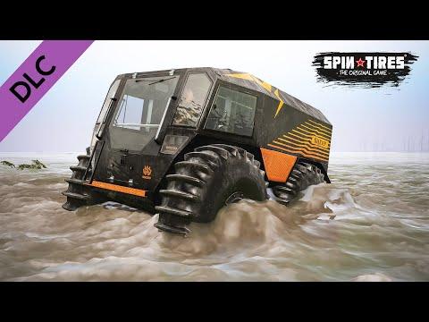 SHERP ATV (4x4) DLC Test in Water - SpinTires |