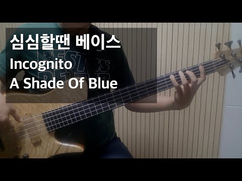 Incognito - A Shade Of Blue(Bass Cover by Euijung)