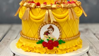 Beauty & the Beast Cake | Belle Cake
