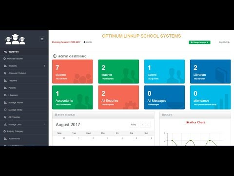 Download Advance School Management System Using PHP & Bootstrap