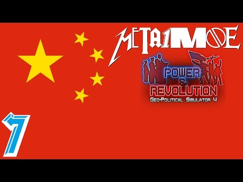 Die Macht in Fernost #7 China - mit Malte - Politik-Simulator 4 Power & Revolution