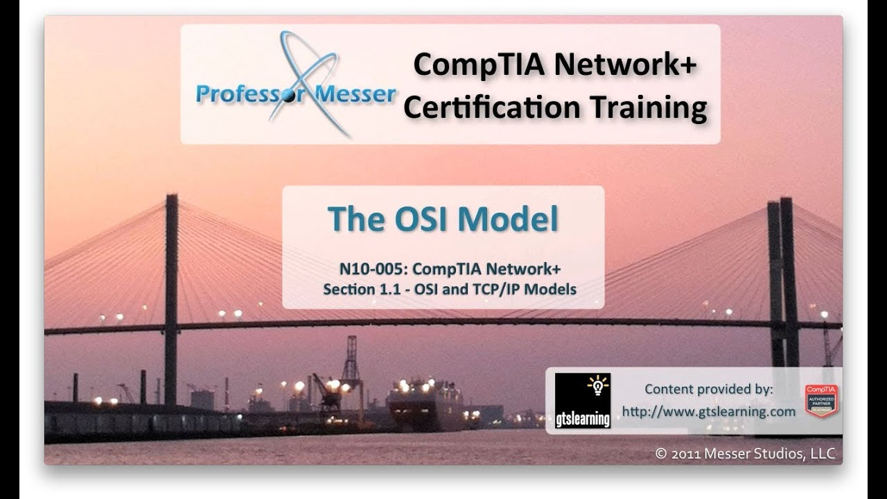 The osi model comptia network n10 005 11 youtube xflitez Image collections