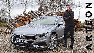 VW Arteon 2.0 TSI R-Line | Review und Fahrbericht / Fahr doch HD